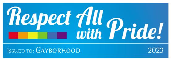Gayborhood Badge
